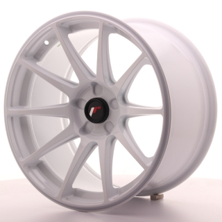JR11 9,5x18 5H BLANK ET30 WHITE