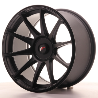 JR11 9,5x18 4x108 ET20-30 FLAT BLACK