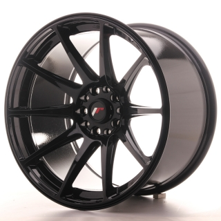 JR11 10,5x18 5x114,3/120 ET22 GLOSS BLACK