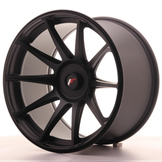 JR11 10,5x18 4x114,3 ET22 FLAT BLACK