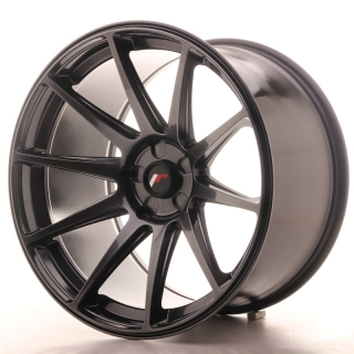 JR11 11x19 5x110 ET15-25 HYPER BLACK