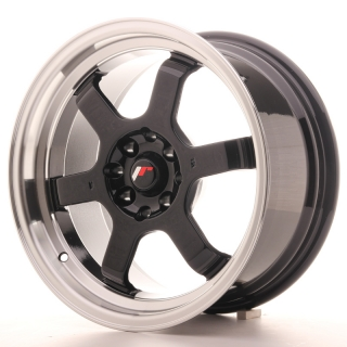 JR12 8x16 4x100/114,3 ET15 GLOSS BLACK