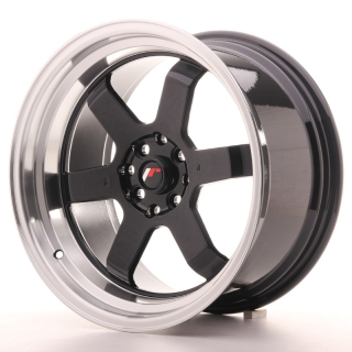 JR12 9x17 4x100/114,3 ET25 GLOSS BLACK