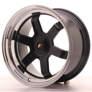 JR12 9x17 5x100 ET25 GLOSS BLACK