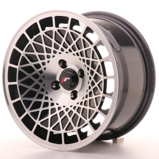 JR14 8x15 4x100 ET20 BLACK MACHINED