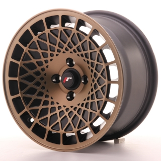 JR14 8x15 4x100 ET20 BLACK BRONZE FINISH