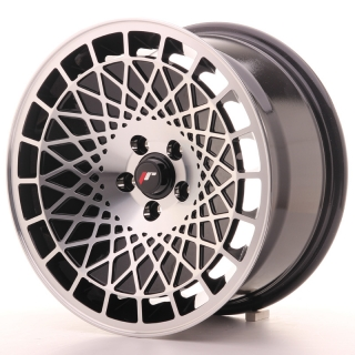 JR14 8x16 4x100 ET15 BLACK MACHINED