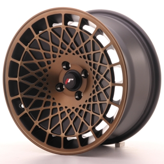 JR14 8x16 4x100 ET15 BLACK BRONZE FINISH