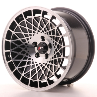 JR14 9x16 5x110 ET10-20 BLACK MACHINED