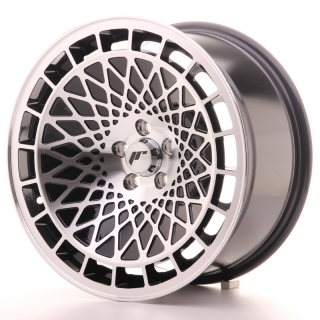 JR14 8,5x17 4x100 ET15 BLACK MACHINED