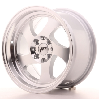 JR15 8x15 4x100/108 ET20 SILVER MACHINED