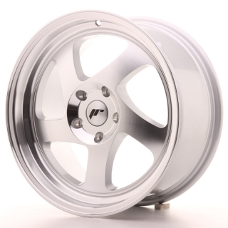 JR15 8x17 5x100 ET35 SILVER MACHINED