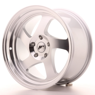 JR15 9x17 5x100 ET25 SILVER MACHINED