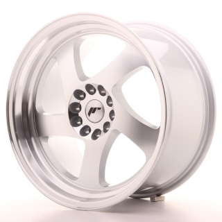 JR15 9,5x18 5x100/120 ET35 SILVER MACHINED