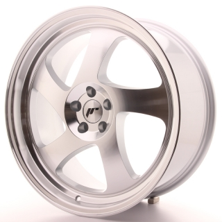 JR15 8,5x19 5x100 ET35-40 SILVER MACHINED