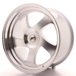 JR15 10x19 5H BLANK ET35 SILVER MACHINED