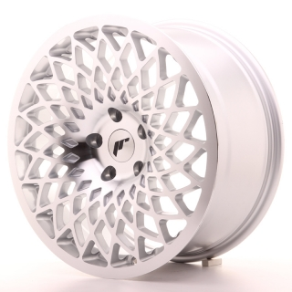 JR17 8,5x18 5x100 ET35 SILVER MACHINED FACE