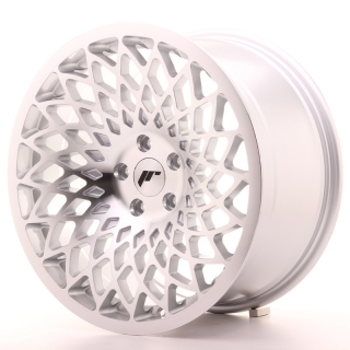 JR17 9,5x18 5H BLANK ET20-40 SILVER MACHINED FACE