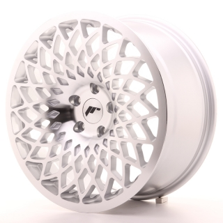 JR17 8,5x18 5H BLANK ET20-42 SILVER MACHINED FACE