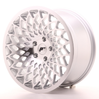 JR17 9,5x18 5x100 ET20-40 SILVER MACHINED FACE