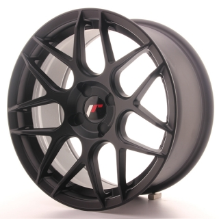 JR18 8x17 4x100 ET25-35 MATT BLACK