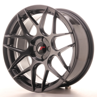 JR18 8x17 5x100 ET35 HYPER BLACK