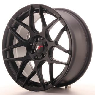 JR18 8x17 4x100/108 ET25 MATT BLACK