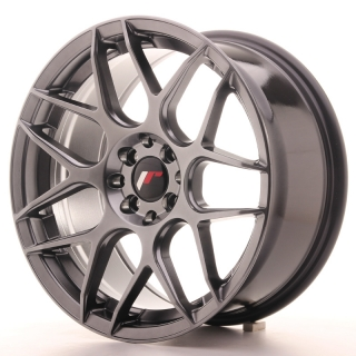 JR18 8x17 4x100/108 ET25 HYPER BLACK