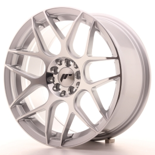 JR18 8x17 4x100/108 ET25 SILVER MACHINED