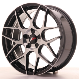 JR18 7,5x18 5x108 ET35-40 BLACK MACHINED