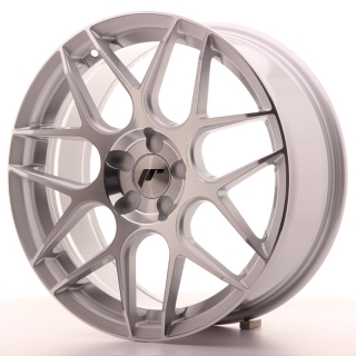 JR18 7,5x18 5H BLANK ET35-40 SILVER MACHINED