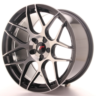 JR18 9,5x18 5x110 ET30-40 BLACK MACHINED