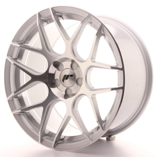JR18 9,5x18 5H BLANK ET30-40 SILVER MACHINED