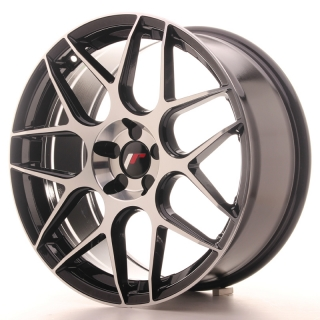 JR18 8,5x19 5x114,3 ET35-40 BLACK MACHINED