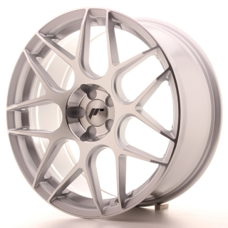 JR18 8,5x19 5x110 ET35-40 SILVER MACHINED