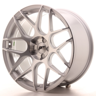 JR18 9,5x19 5H BLANK ET35 SILVER MACHINED