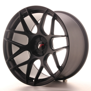 JR18 11x19 5x112 ET15-25 MATT BLACK