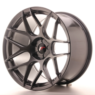 JR18 11x19 5x112 ET15-25 HYPER BLACK