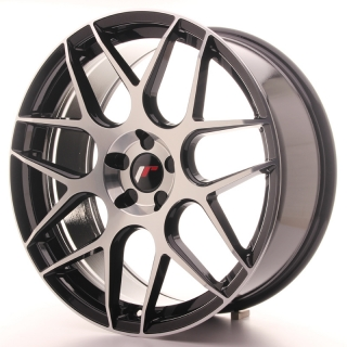 JR18 8,5x20 5x100 ET20-40 BLACK MACHINED