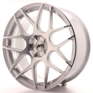 JR18 8,5x20 5H BLANK ET20-40 SILVER MACHINED