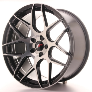 JR18 10x20 5H BLANK ET20-45 BLACK MACHINED