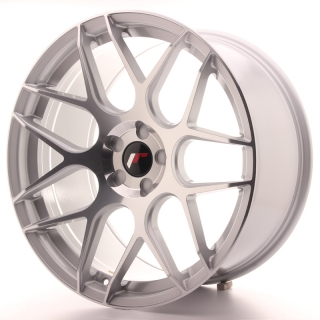 JR18 10x20 5x100 ET20-45 SILVER MACHINED