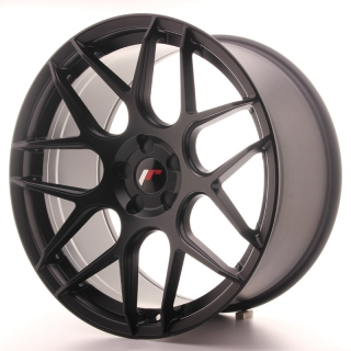JR18 10x20 5H BLANK ET40-45 MATT BLACK