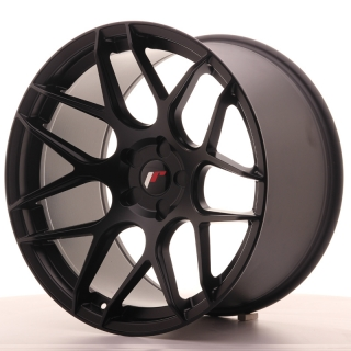 JR18 11x20 5x110 ET20-30 MATT BLACK
