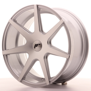 JR20 8,5x18 5x120 ET25-40 SILVER MACHINED