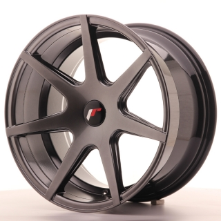 JR20 9,5x18 4x108 ET25-40 HYPER BLACK