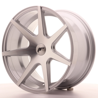 JR20 9,5x18 5x100 ET25-40 SILVER MACHINED