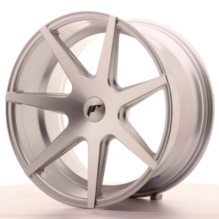 JR20 9,5x19 5x100 ET20-40 SILVER MACHINED