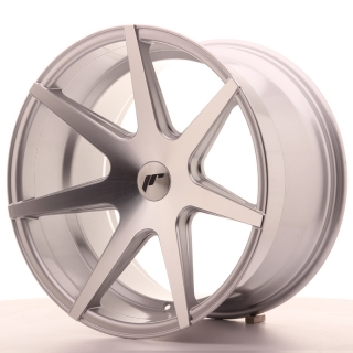 JR20 11x19 5x100 ET25-35 SILVER MACHINED