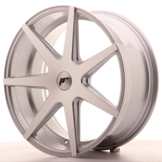 JR20 8,5x20 5x120 ET20-40 SILVER MACHINED